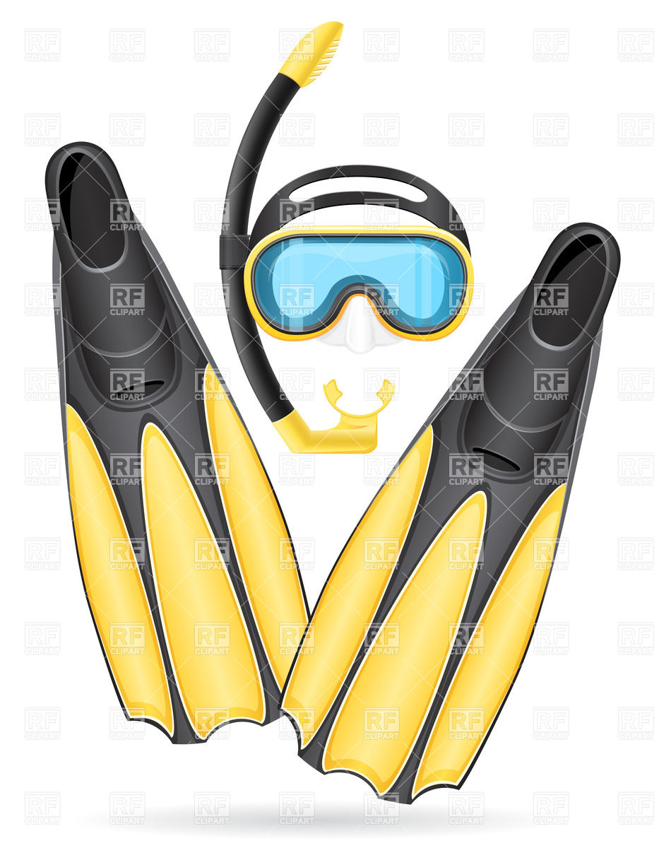 Diving equipment clipart #16
