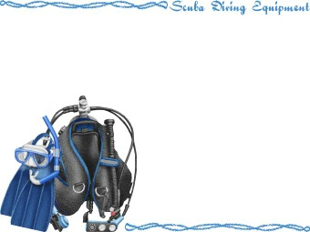 Scuba Diving Equipment clipart / Free clip art.