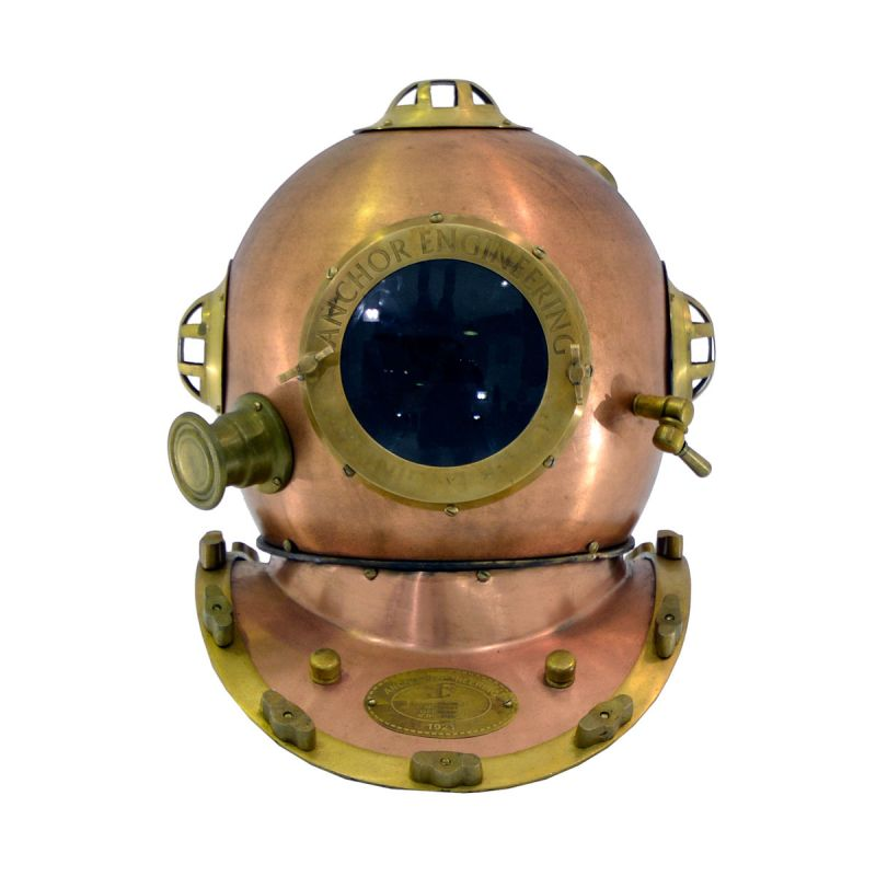 Deep Sea Diving Helmet.