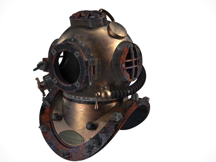 Diving Helmet.