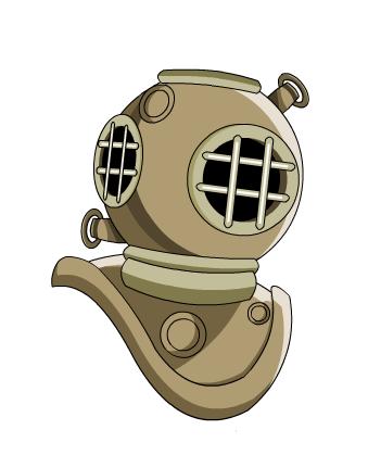 Deep Diver Helmet.
