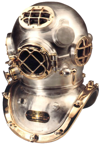 Building a US Navy Mark V divers Helmet takes expertise and.