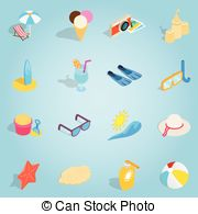 Vector Clip Art of Isometric Tile of Carribean Diving Holidays.