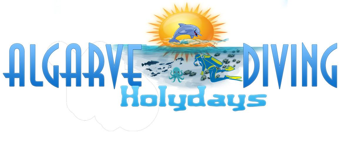 Logo for Algarve Diving Holidays.