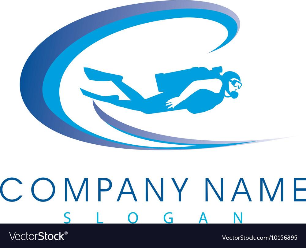 Diver logo.