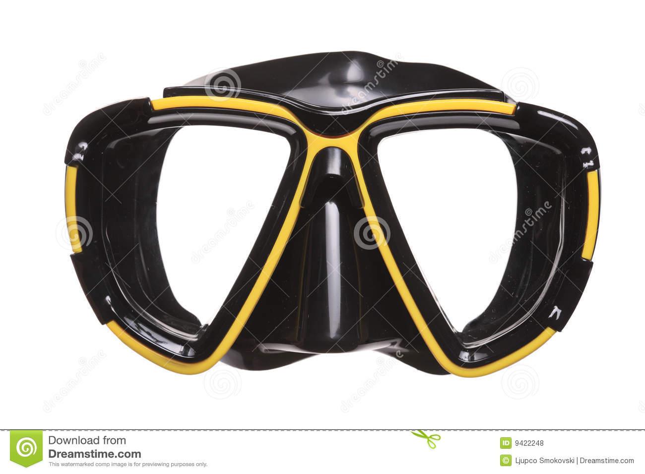 Scuba Mask Clip Art.