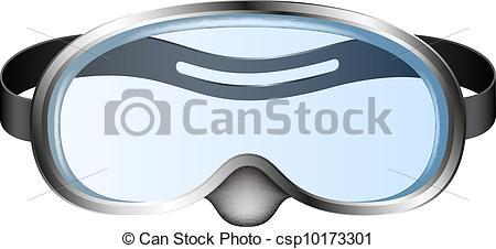 Diving Mask Clip Art.