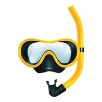 Diving Mask Clip Art.