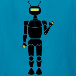 Cartoon Robot Clipart T.