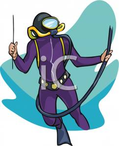 Scuba Diving Clip Art Suit.
