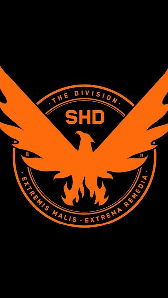 The Division 2, SHD, Phoenix, Logo, 8K,7680x4320, Wallpaper.