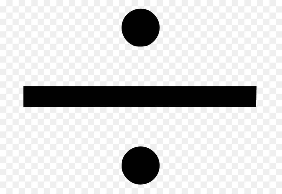 Division Symbol.