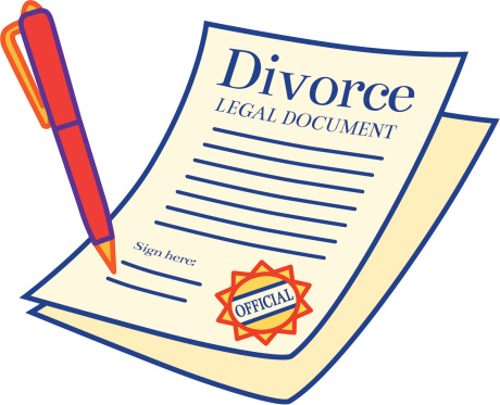 Divorce Clipart.
