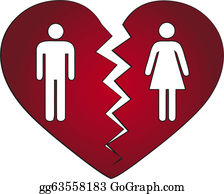 Divorced Clip Art.