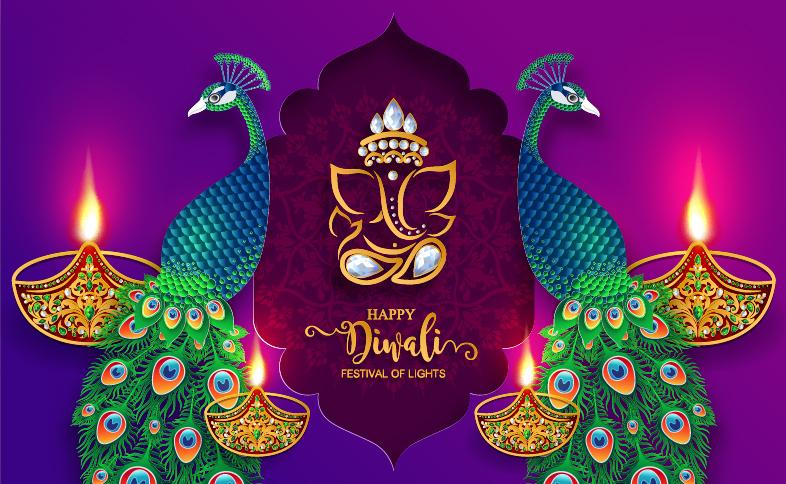 diwali background all free download Purple diwali background.