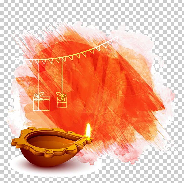Diwali Diya Wish Illustration PNG, Clipart, Background Vector, Color.