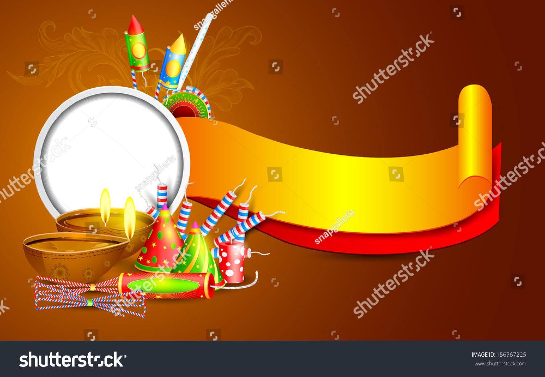 Easy Edit Vector Illustration Diwali Banner Stock Vector (Royalty.