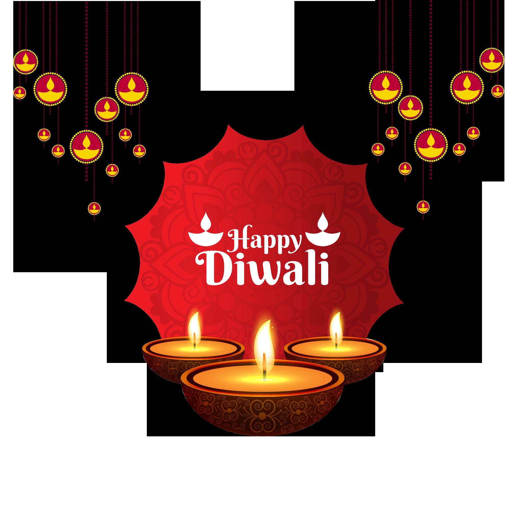 Happy Diwali PNG.