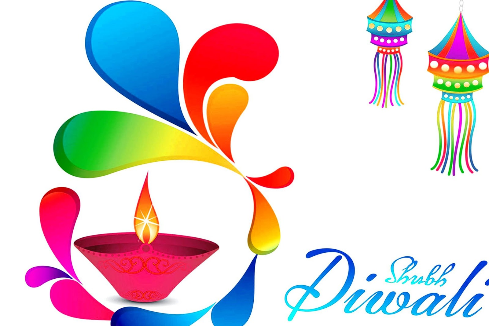 Happy Diwali 2016 Clipart.