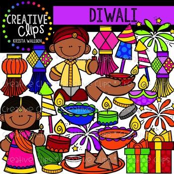 Diwali Clipart {Creative Clips Clipart}.