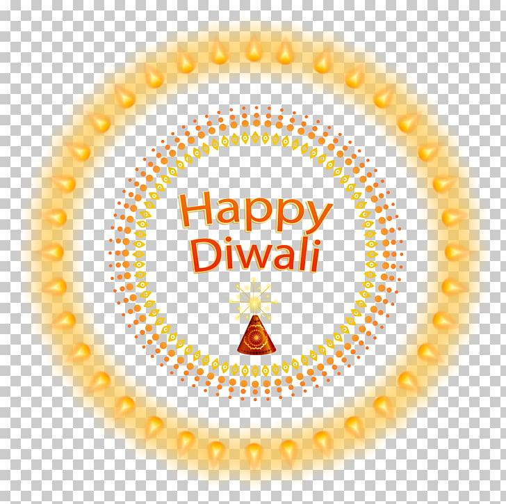 Diwali Diya , Diwali, happy diwali text illustration PNG.