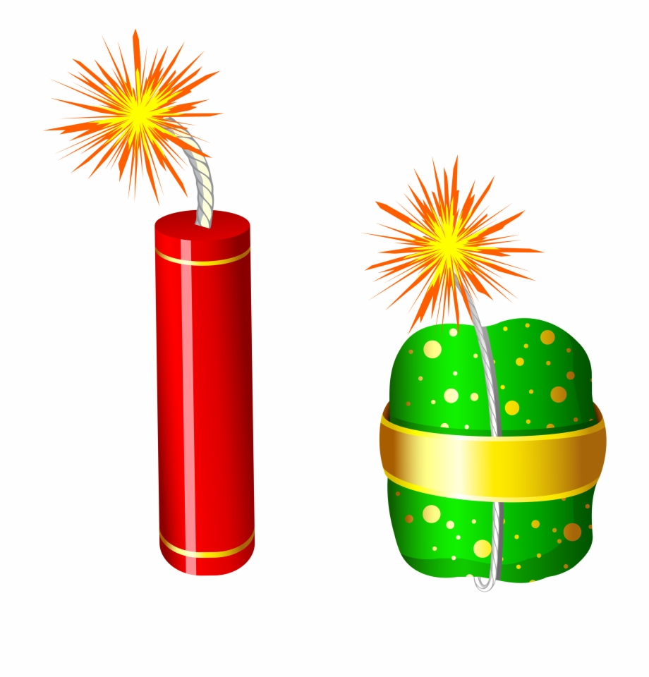 Firecrackers Png Clip Art Image.
