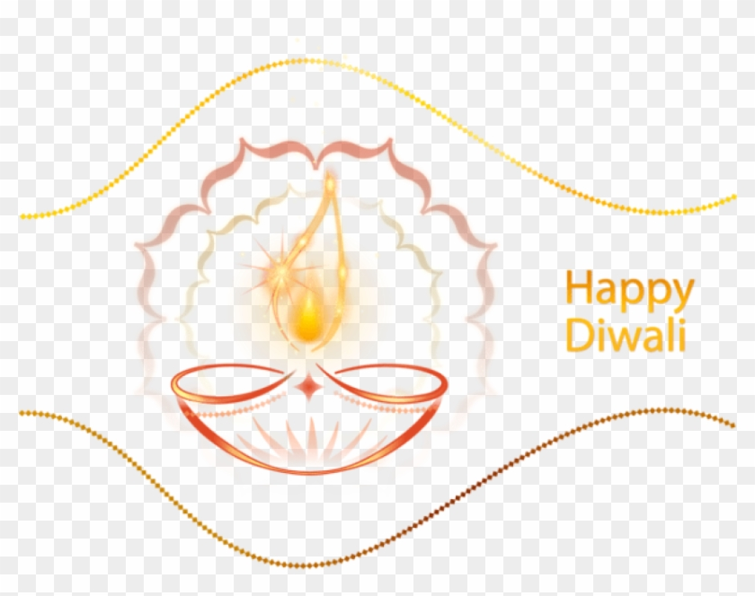 Free Png Download Happy Diwali Candle Decoration Clipart.