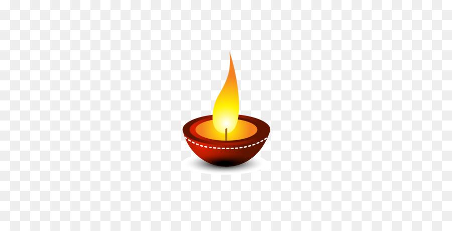 Happy Diwali Diya clipart.