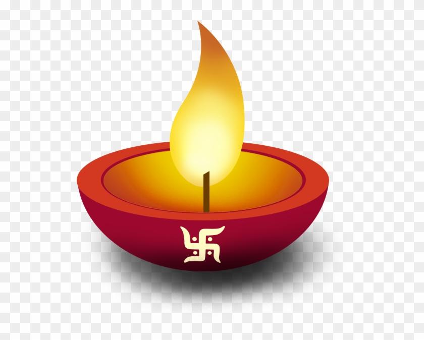 Happy Diwali Diya Png, Transparent Png.