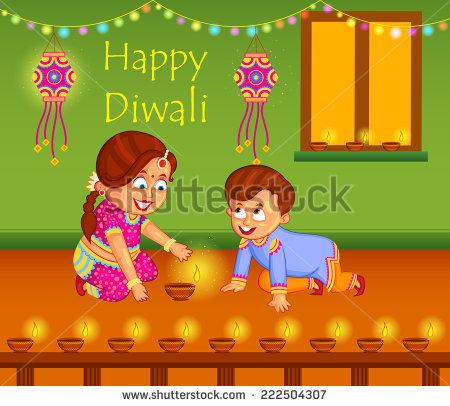 Children Celebrating Diwali PNG Transparent Children Celebrating.