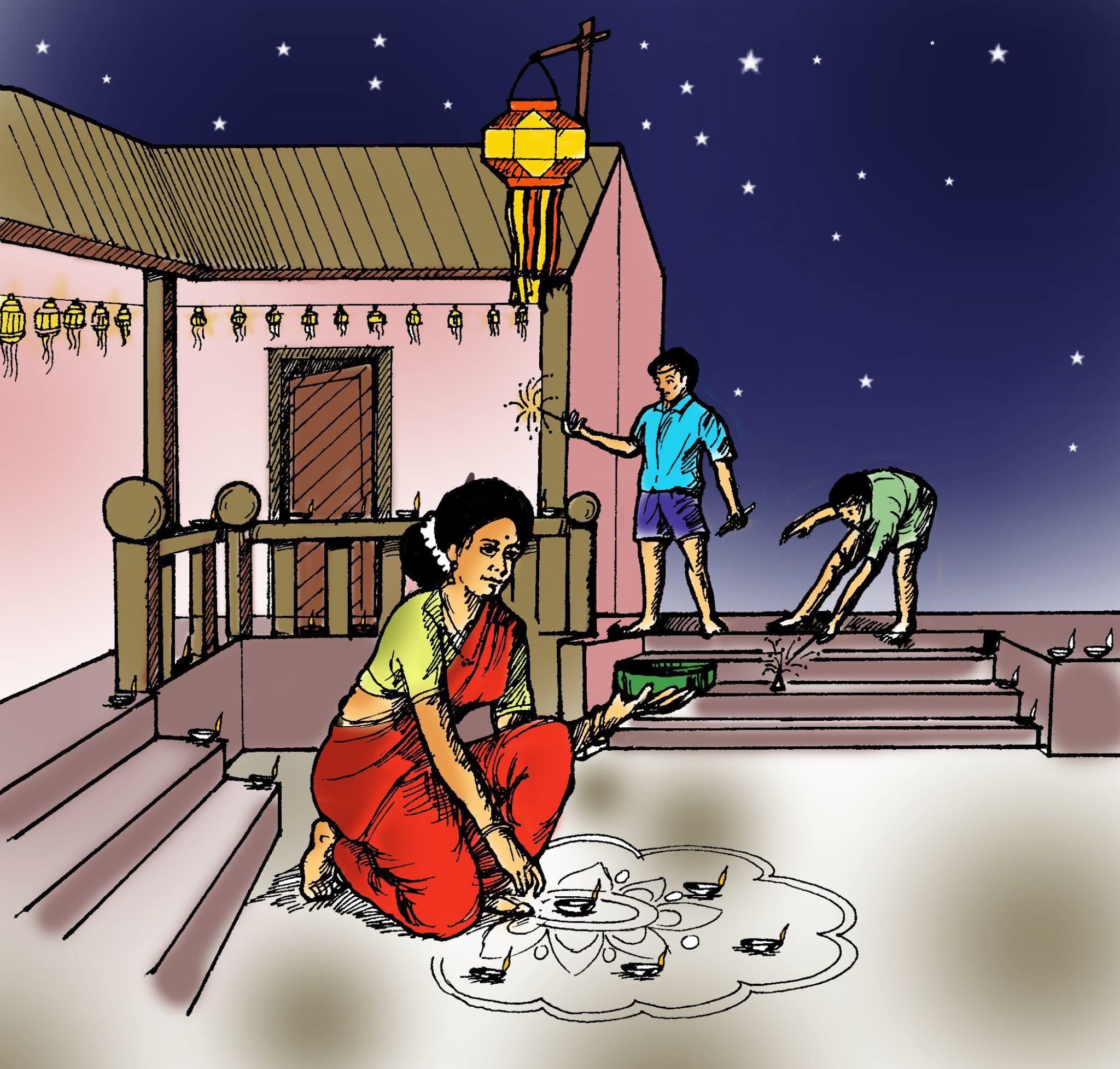 Importance Of Diwali Lakshmi Pooja Festival.