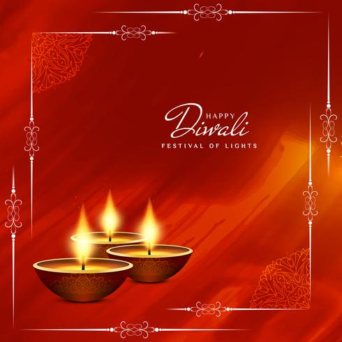 Abstract beautiful Happy Diwali festival greeting background.
