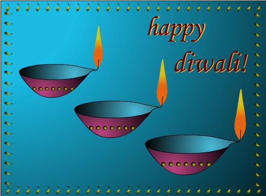 Diwali Greeting Clipart 3.