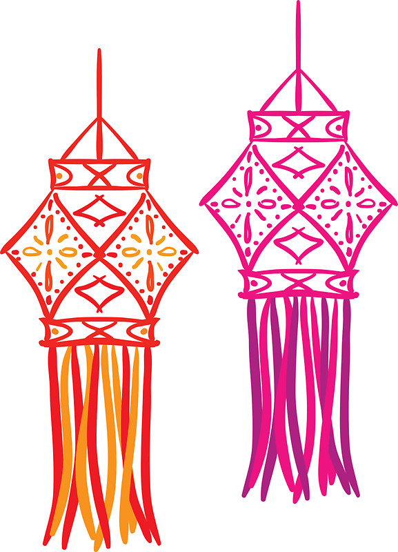 Diwali Lantern Clipart Png.