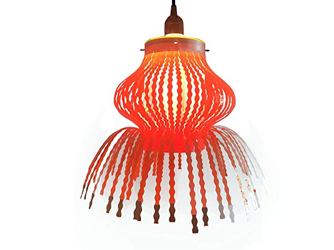 Buy 1 get 1 Free! (Orange Only) Diwali Plastic Akash Kandil Single Handi  Diwali Lampshade. (Orange).