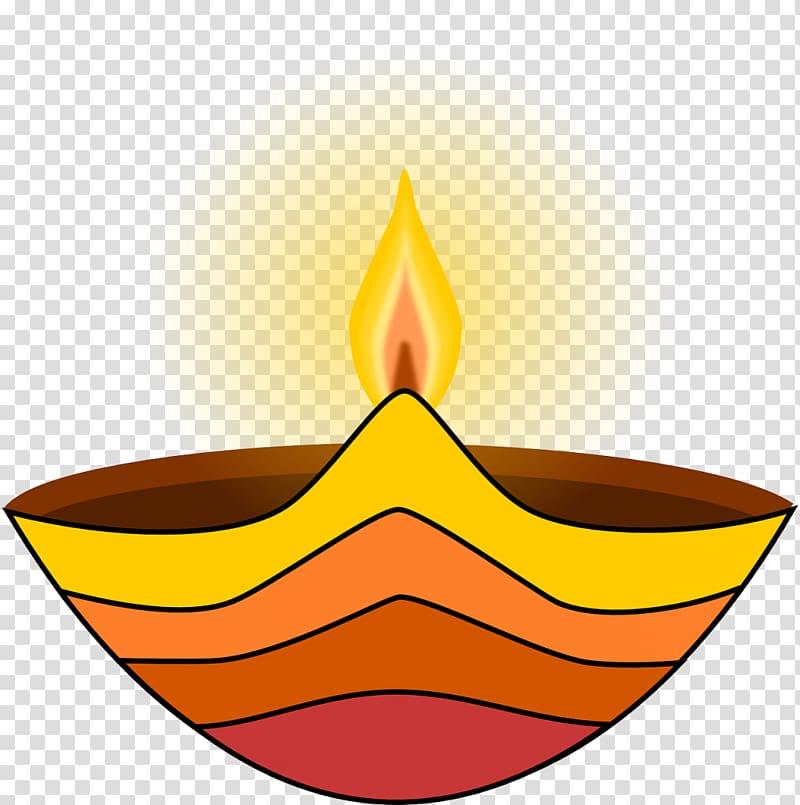 Light Diwali Diya , lamp transparent background PNG clipart.