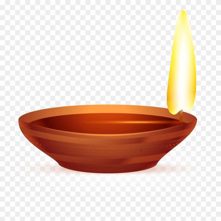 Diwali Oil Lamp.