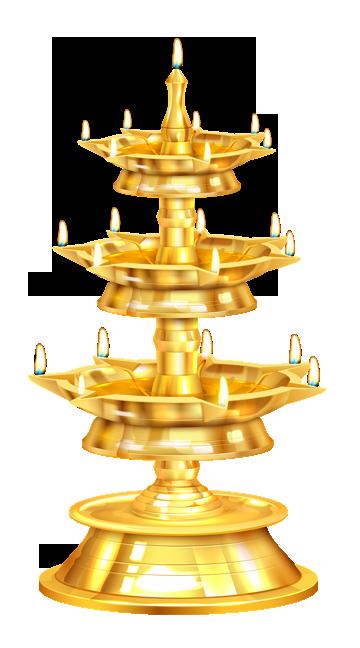 DIWALI Candlestick Diya png images free download.