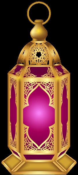 Purple Lantern Diwali transparent PNG.