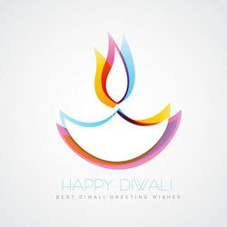 Diwali Diya Clip Art.