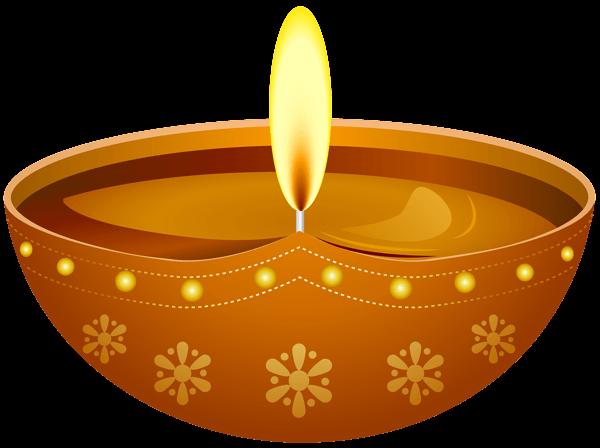 Candle Diwali transparent PNG.