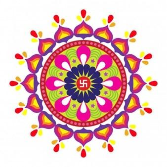 Diwali rangoli clipart » Clipart Portal.