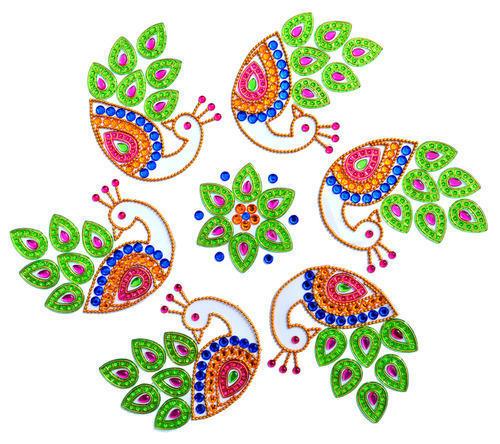 Designer Diwali Rangoli.