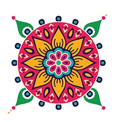 Diwali rangoli clipart 4 » Clipart Portal.