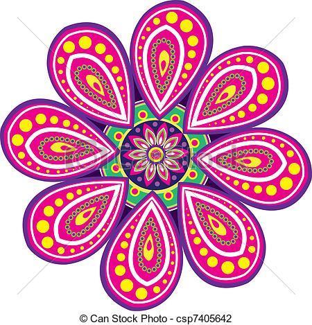 Diwali rangoli clipart 2 » Clipart Portal.