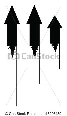 Clipart Vector of Diwali Festive Firecrackers.