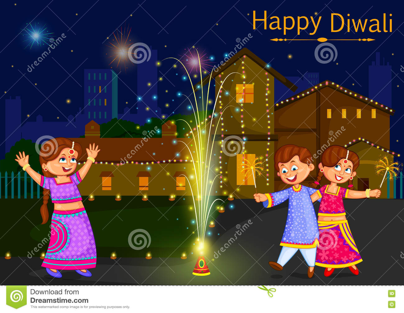 Clipart Images For Diwali.