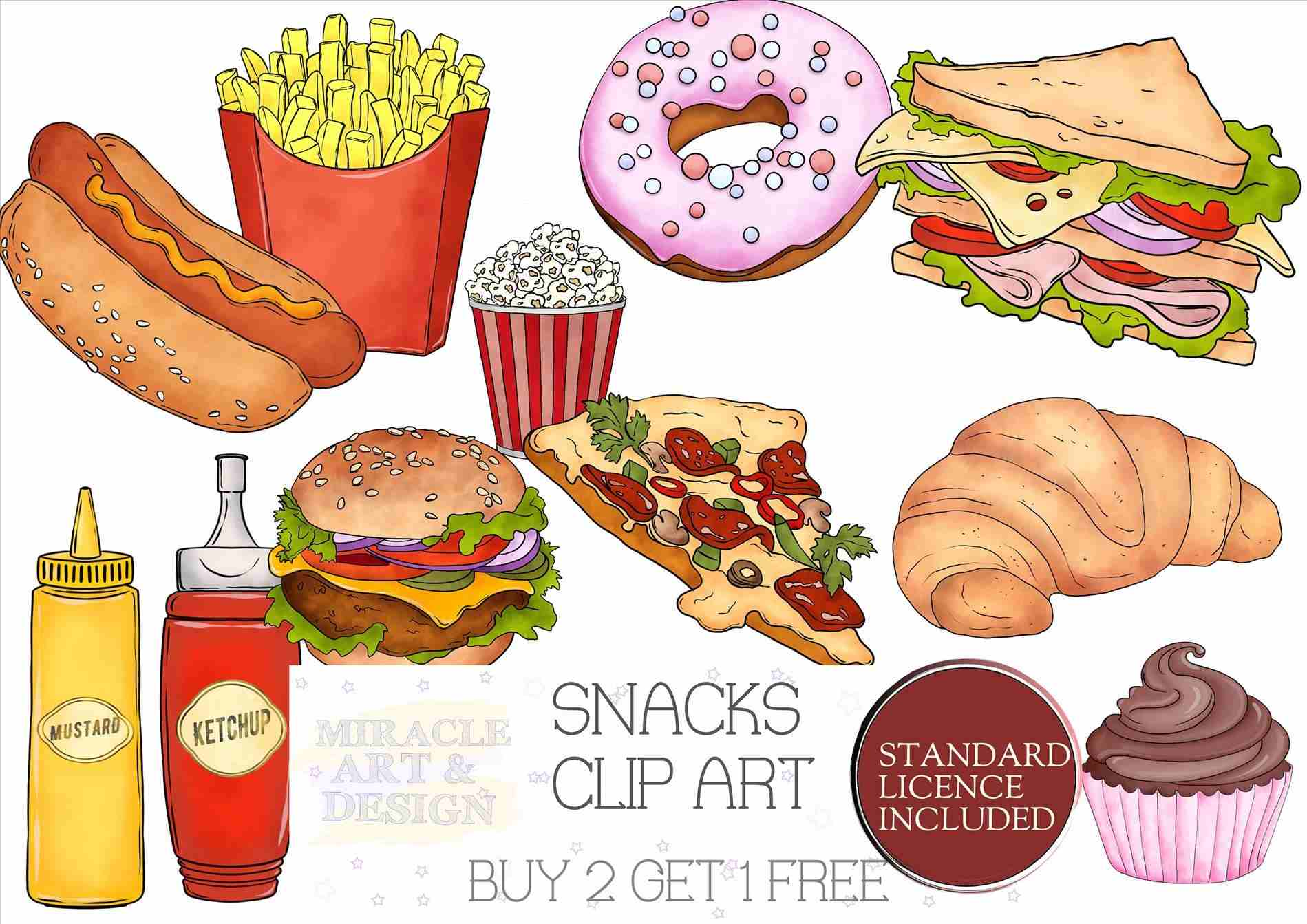 603 Sweets free clipart.