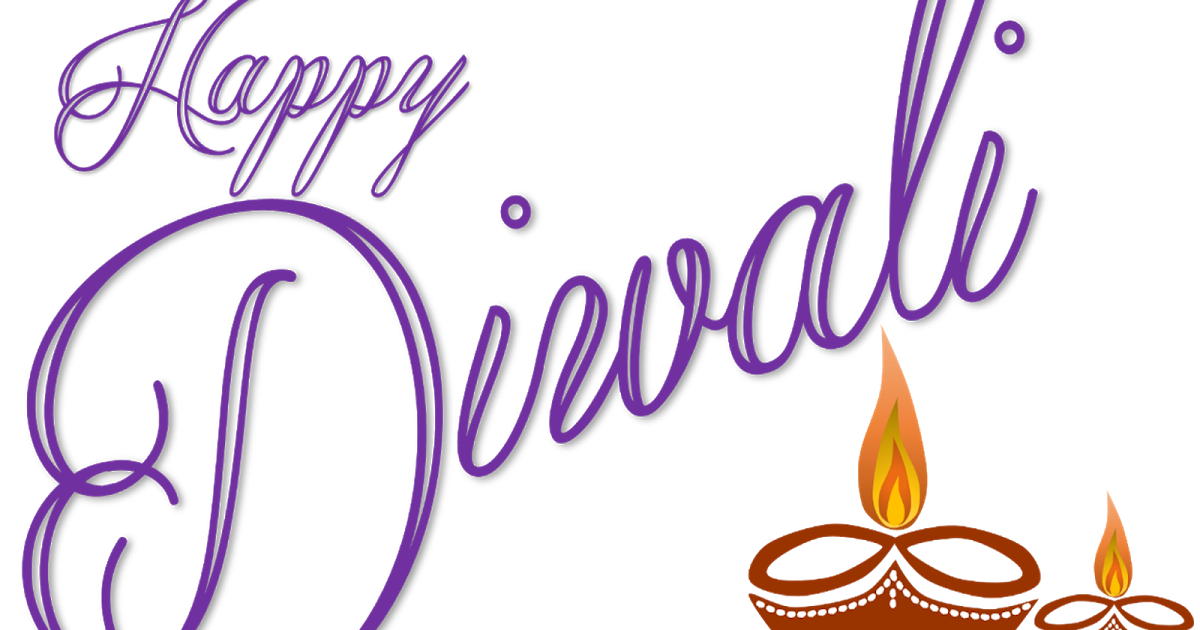 Happy Diwali Wishes Free Clipart.