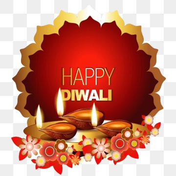 Diwali Wishes PNG Images.